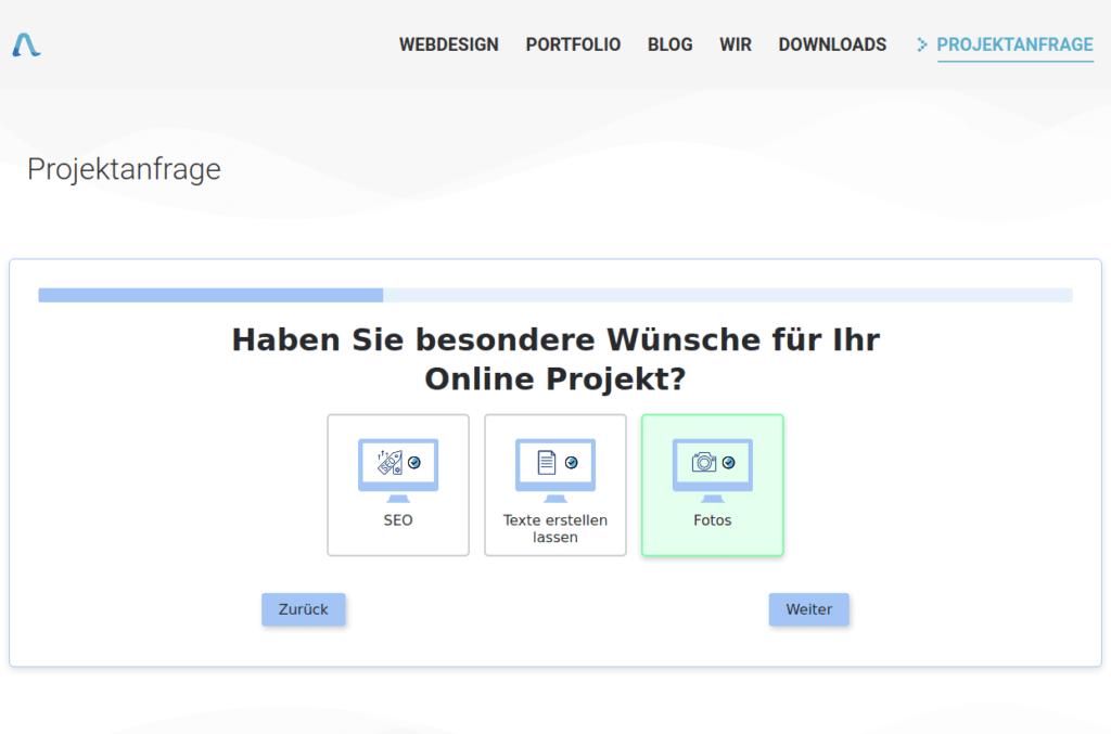 Evolution Forms Screenshot azoora.de
