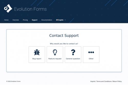 Anfrageformular-evolution-forms-beispiel-evoforms